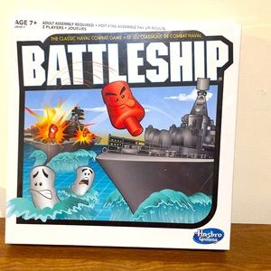 Battleship game Hasbro new in sealed package 7+